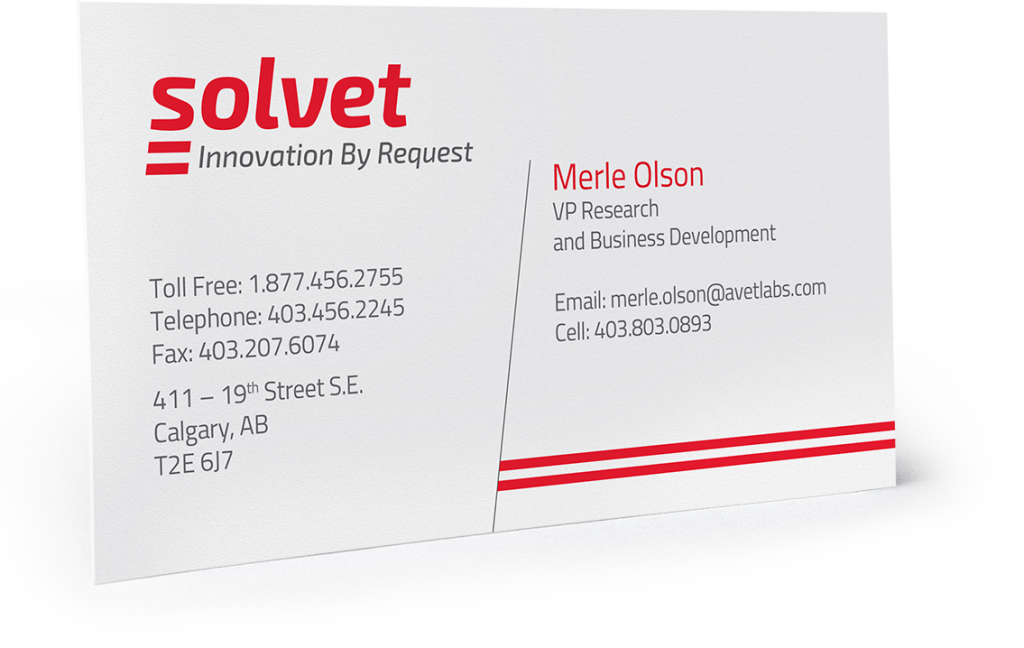 solvet business card